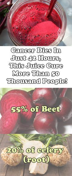 Cancer Dies In Just 42 Hours, This Juice Cure More Than 50 Thousand People!