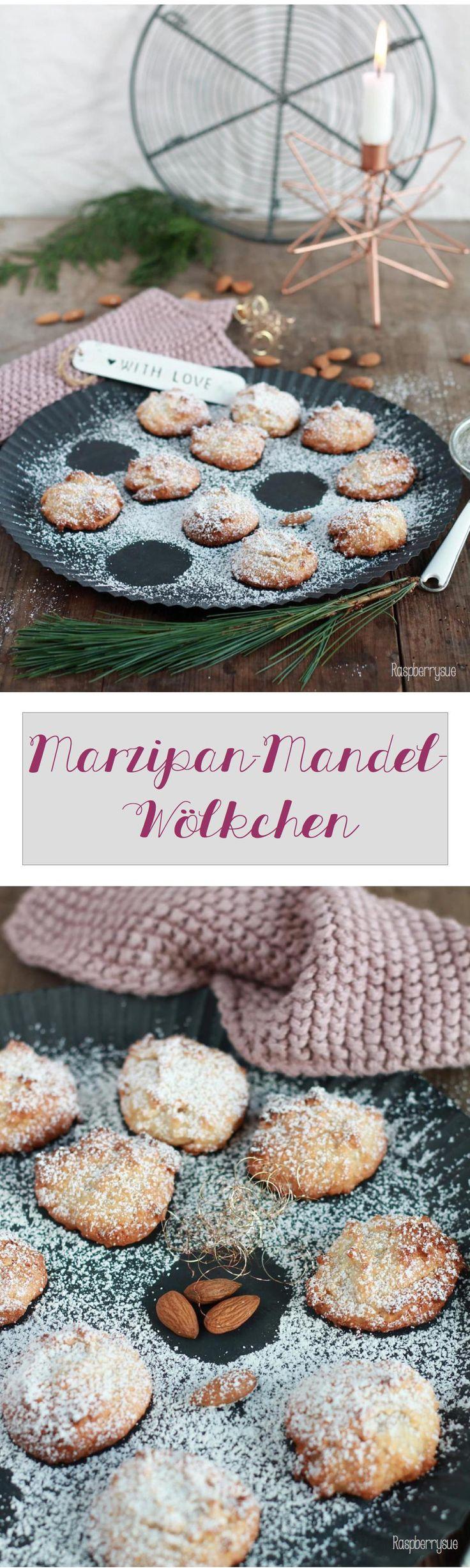 Köstliche Plätzchen mit Marzipan und Zitrone
