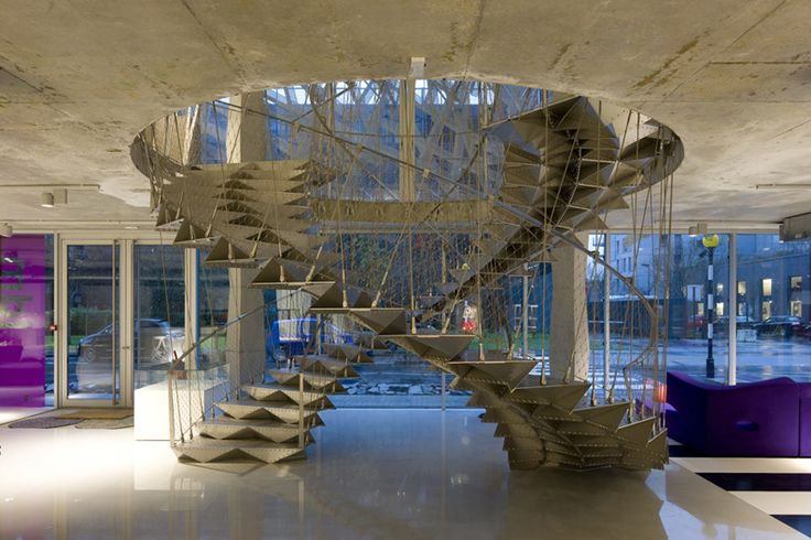 Escalier Origami