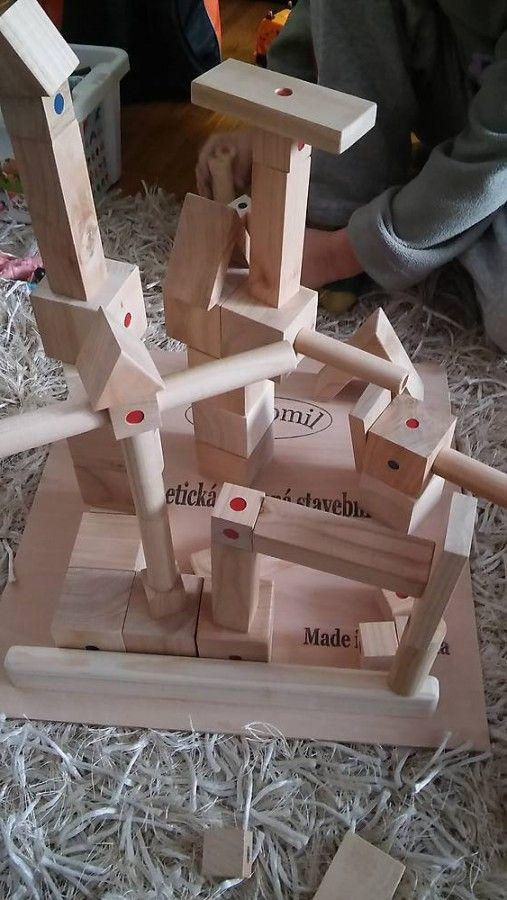 Magnetická drevená stevebnica Drewomil