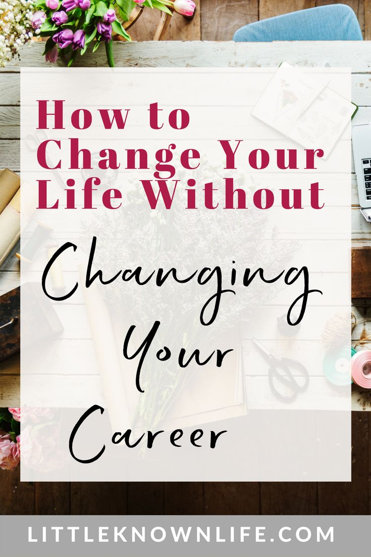 Do you need a career change? How to leverage your mindset, set true priorities, and take action toward fulfilling your dreams.