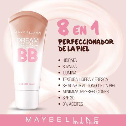 Con tu BB Cream Maybelline estás siempre lista.