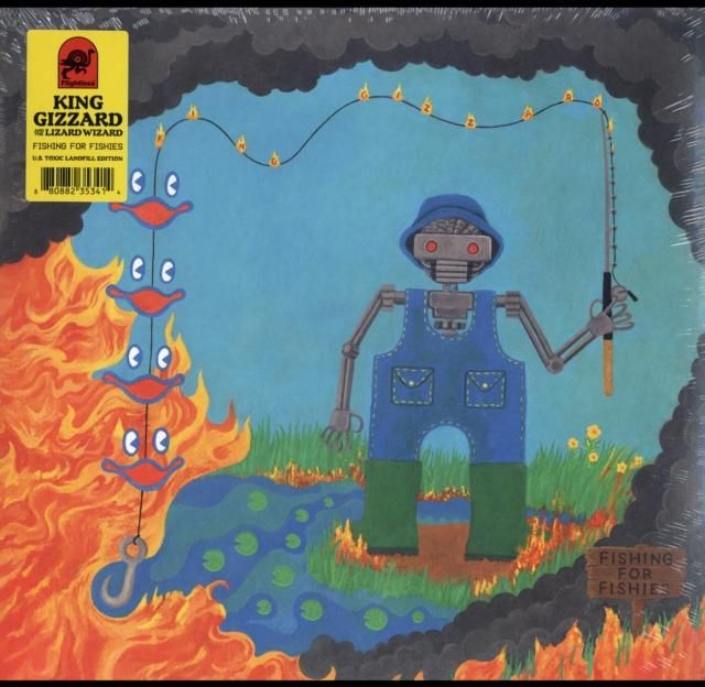 King Gizzard And The Lizard Wizard Fishing For Fishies Lily Moayeri Wizard Vinyl Lizard