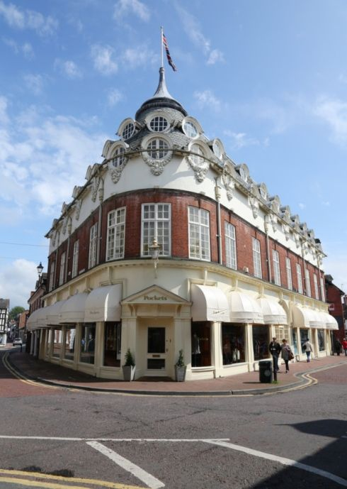 #Nantwich town centre.