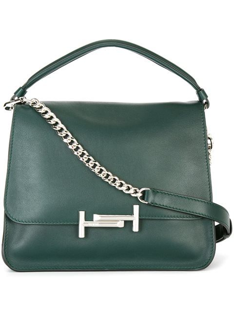 TOD'S Flap Opening Medium Tote. #tods #bags #shoulder bags #hand bags #leather…