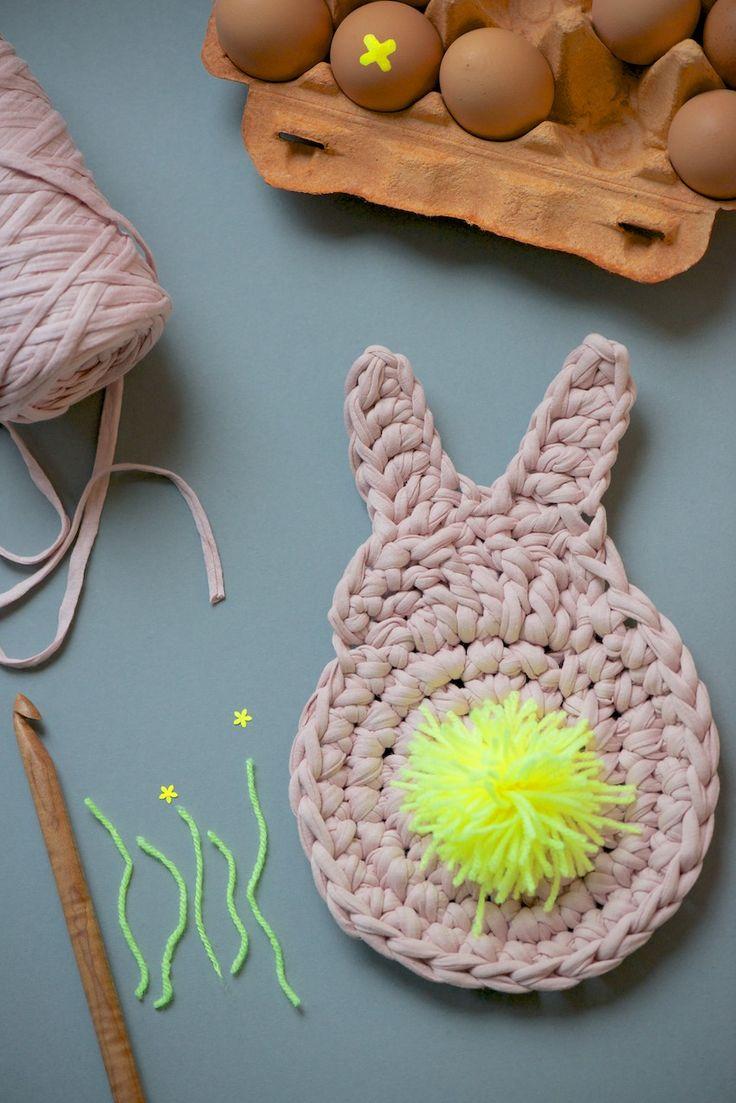Crochet bunny tutorial, Anleitung für gehäkelten Hasen