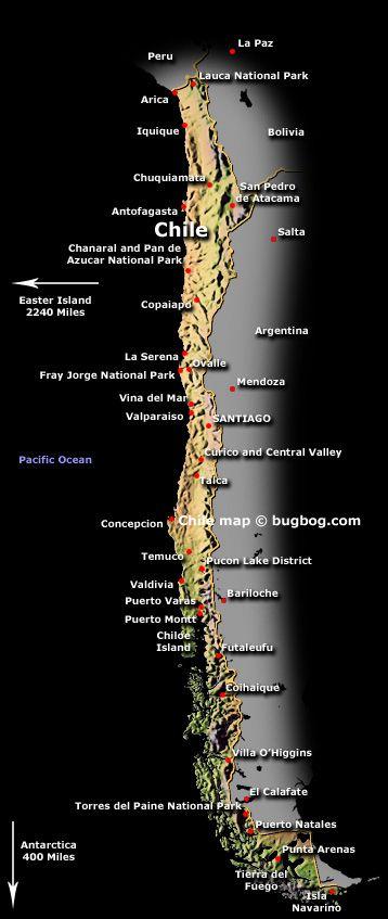 Chile tiene un désert que no lluevio en cuarenta anos
