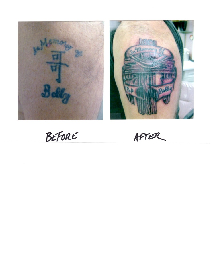 49 best from bad to badass cover ups images on pinterest for Brown tattoo ink cover up