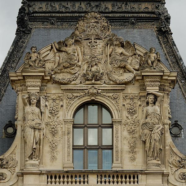 Gorgeous Details ~pediment Colbert Pavillion Louvre (When Architecture Was  At Its Best. Not Like The Concrete Boxes You See Nowadays, Is It?