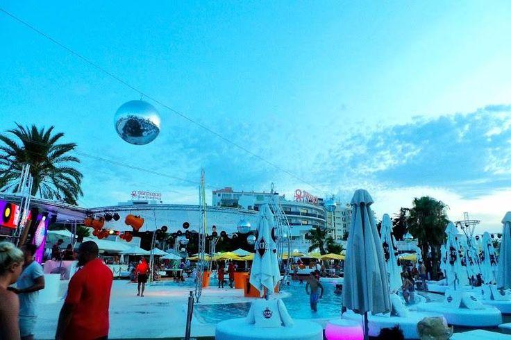 Ocean Beach Club Ibiza.