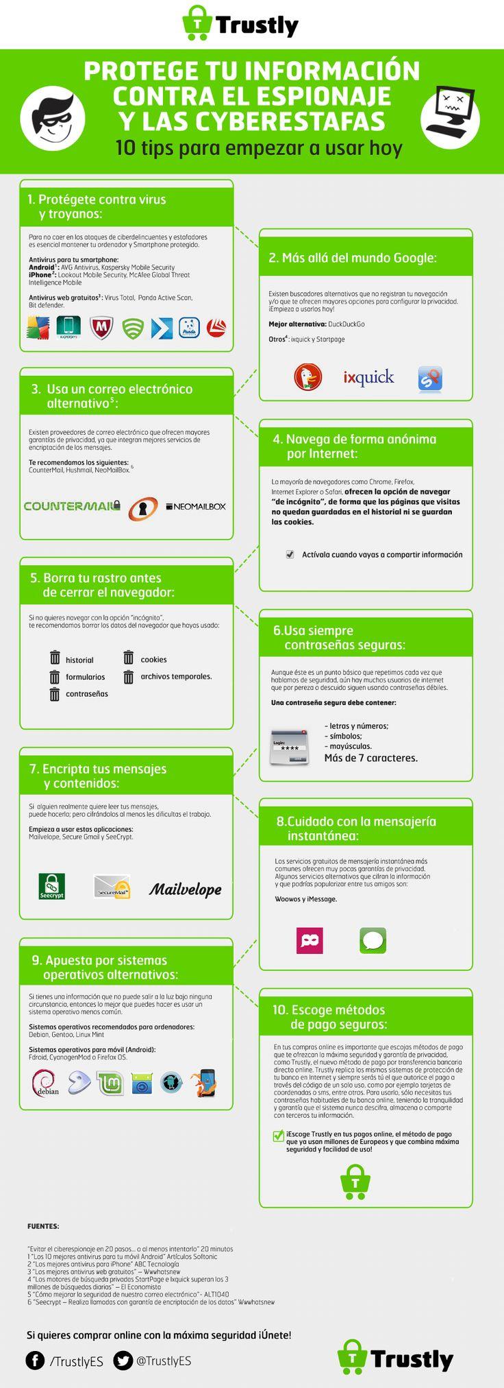Consejos para mejorar la seguridad de nuestra información en la web Por Juan Diego Polo