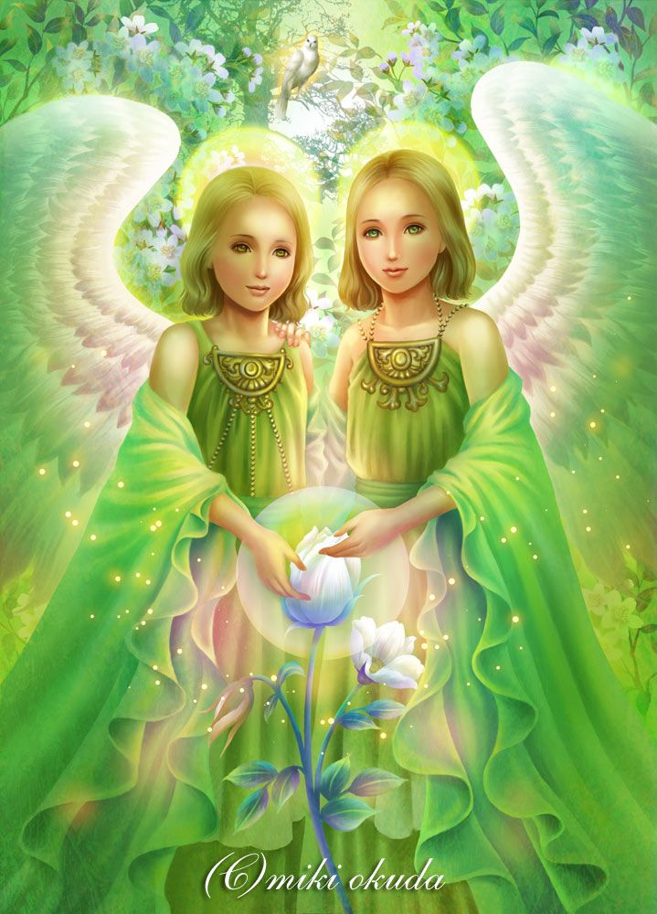 Angels of young trees by mikioku on DeviantArt