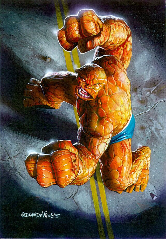 The Thing by Dave Devries