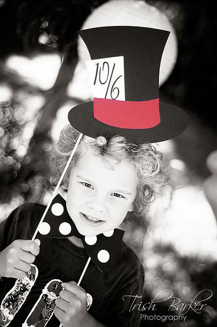 171 best mad hatters tea party ideas images on pinterest for Mad hatter party props