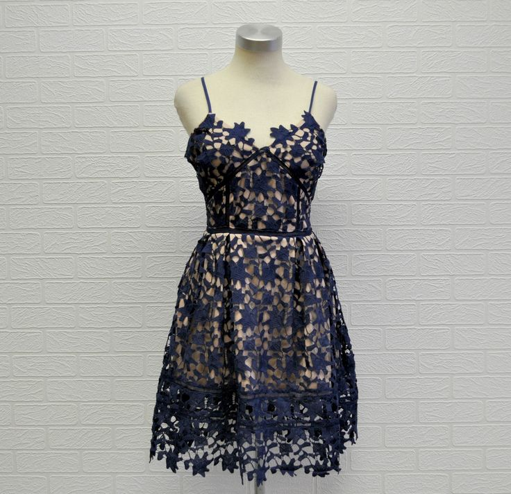 Lovely in #Lace #evening dress at #Nicci #navy #festiveseason