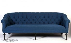 Canapé WILSON Bleu Ralph Lauren