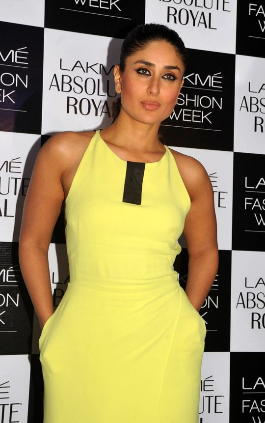 Kareena Kapoor Khan: She stuns in her stylish neon outfit #Bollywood #Fashion #Style