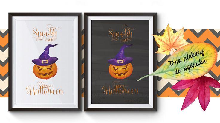 Spooky Halloween, czyli straszny plakat do pobrania za darmo