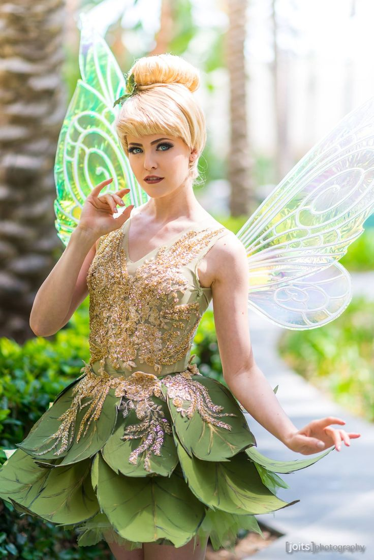 Tinkerbell (Peter Pan) by Maid of Might Cosplay at #D23Expo2017