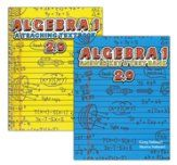 Teaching Textbooks: Algebra 1, Textbook with Answer Key, Version 2.0