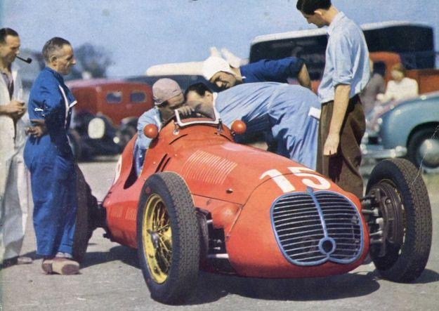 1945 - 1954 Grand Prix nie zaliczane do klasyfikacji Formuły 1 (color)