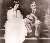 Franklin and Eleanor Roosevelt were both avid knitters.