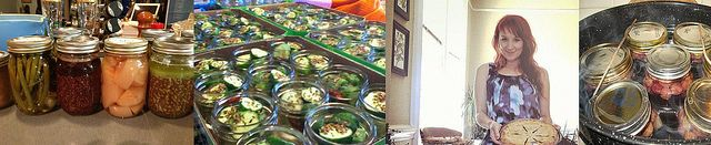 pickling class with Kelly McVicker