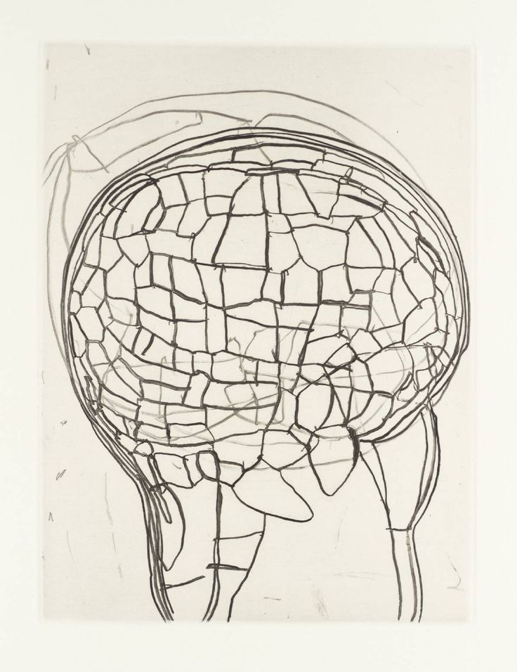 Terry Winters, Field Note (3), 1992