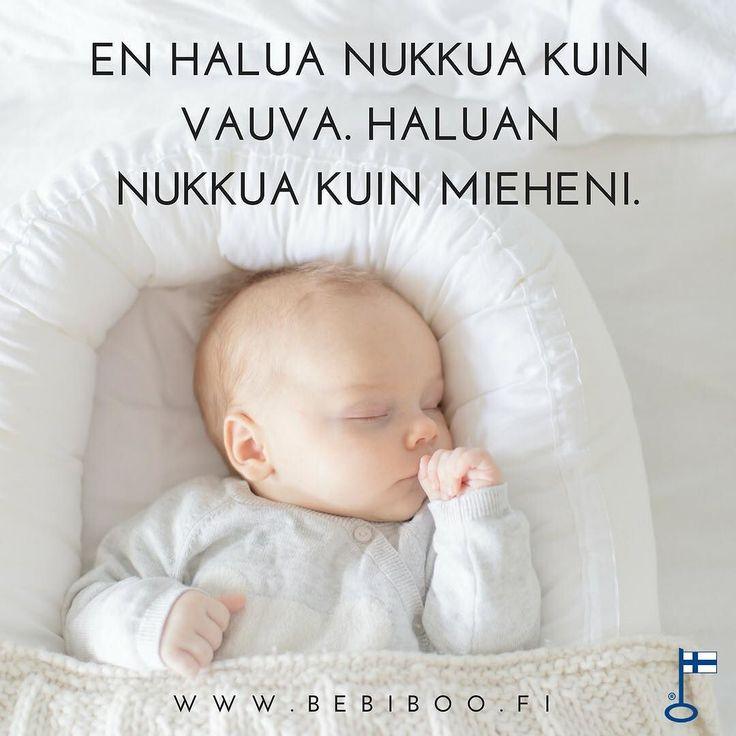 Mutta haluat varmasti nukkua kuten Bebiboossa nukkuva vauva- hyvin! . . . . #vauva #vauva2017 #quotes #bebis #baby #uni #unipesä #äiti #vauvanpesä #koti #kotimainen #sisustus #vauvanhuone #madeinfinland http://ift.tt/2tSGA77