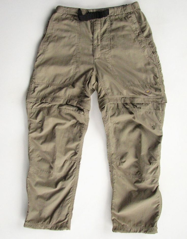 MOUNTAIN HARDWEAR WOMENS 10 NYLON ZIP OFF CONVERTIBLE HIKING PANTS #MOUNTAINHARDWEAR #PantsTightsLeggings