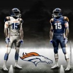 Denver Broncos uniform, helmet concept