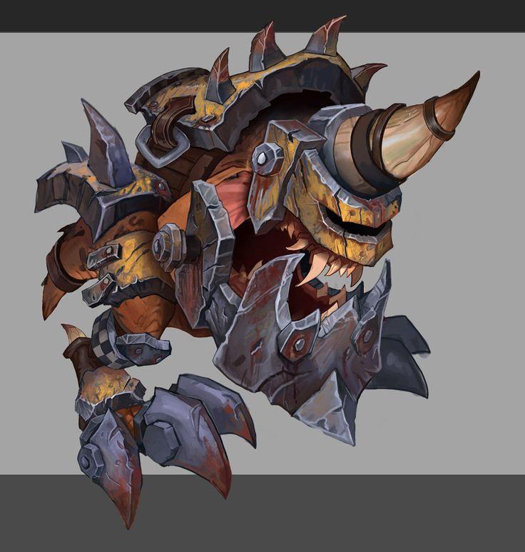 ArtStation - Squiq armor concept, Rayph Beisner