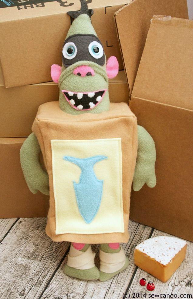 Sew Can Do: My Handmade Fish The BoxTroll Plush
