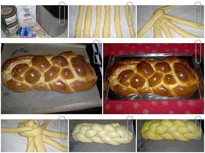 Jedlíkovo vaření: Rychlá domácí vánočka #xmas #christmas #baking #cukrovi #vanoce #vanocka