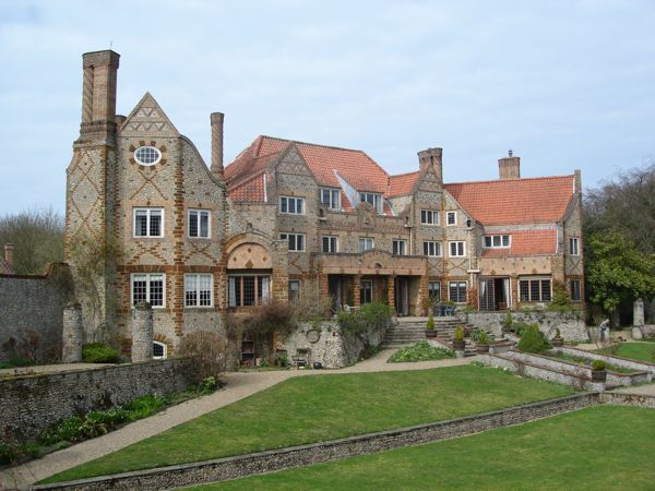 Voewood House, Arts and Craft, owned by Simon Finch, antiquarian bookseller