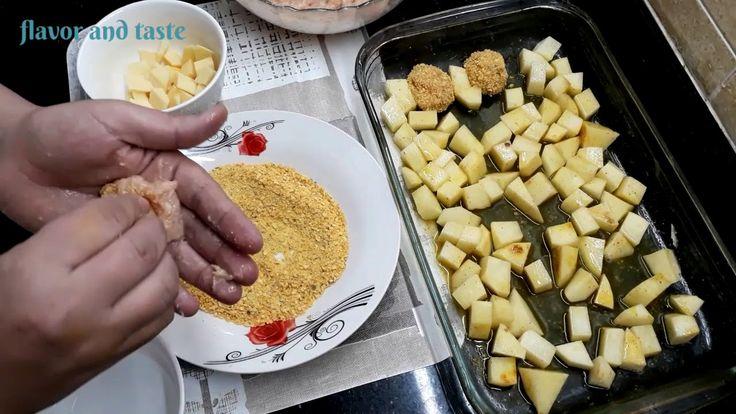 Quick Dinner Ground Kichen With Potatoes عشاء خفيف بكفتة صدر الدجاج في Quick Dinner Flavors Food