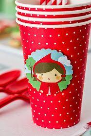 Postreadicción galletas decoradas, cupcakes y pops: Fiesta de Caperucita Roja
