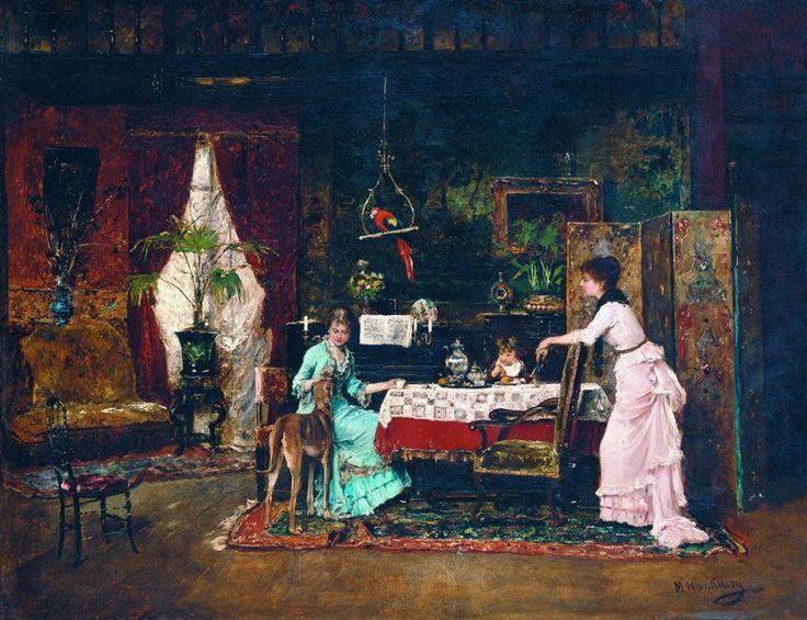 Munkácsy Mihály (1844-1900) - Az agár