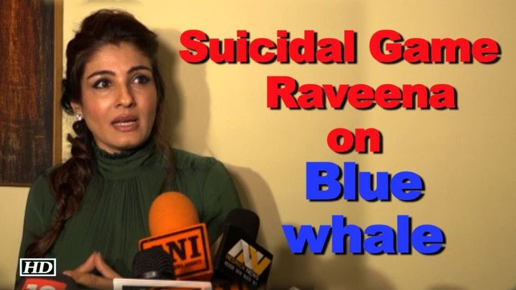 Raveena Talks about Parental Guidance | Blue Whale Game
