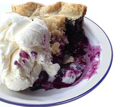 We love the authentic flavor of this Maine Wild Blueberry Pie Recipe.