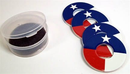 TEXAS FLAG REPLACEMENT WASHERS - $18.49