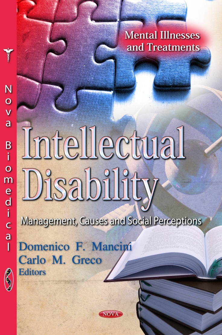 Intellectual disability : management, causes and social perceptions / Domenico F. Mancini and Carlo M. Greco