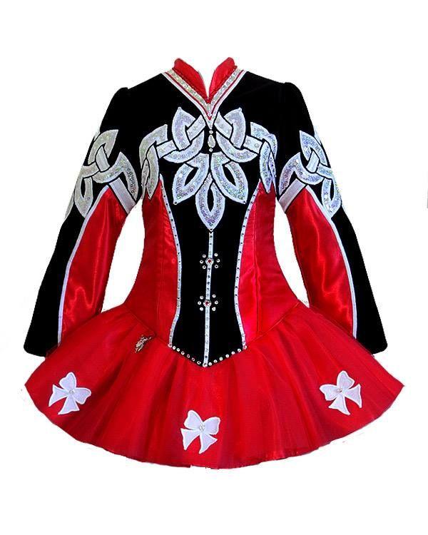 Celtic Art Designs by Lucy Irish Dance Solo Dress Costume
