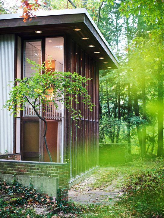 kirkpatrick house by george nelson | kalamazoo, mich