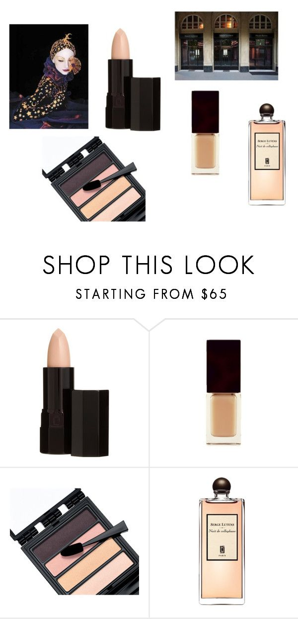 """SERGE LUTENS: NUDE"" by whoisdada on Polyvore featuring bellezza e Serge Lutens"