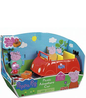 "Fisher-Price Peppa Pig Picnic Adventure Car - Fisher-Price - Toys ""R"" Us - Jake"