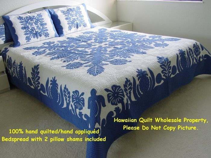 268 best Great Hawaiian Quilts images on Pinterest | Hawaiian ... : hawaiian bedspreads quilts - Adamdwight.com