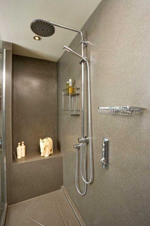 Corian Clad Shower So Easy To Clean Bathroom
