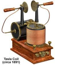 inventions of the 1800s - Google Search Nickola Tesla invention  Tesla's Coil 1891  Think electricity and with out this we would not have lights.....