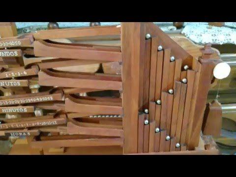 marble clock maya chicuacen ollin #02 - YouTube